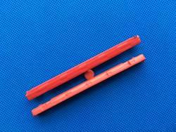 Новый оригинальный 7.0 мм до 9.5 мм Бэй красный SSD Spacer рельсы чехол для Lenovo ThinkPad T420 T420I T520 W520 t530 T530i W530 04w1641