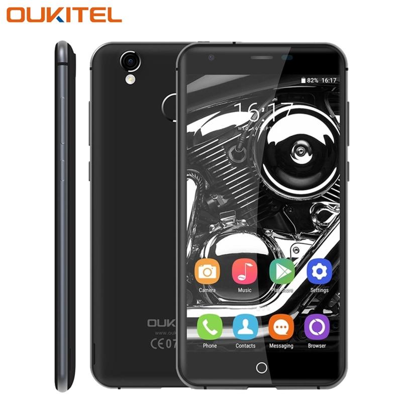 Original OUKITEL K7000 4G LTE teléfono Móvil 2 GB RAM 16 GB ROM MTK6737 Quad-Cor
