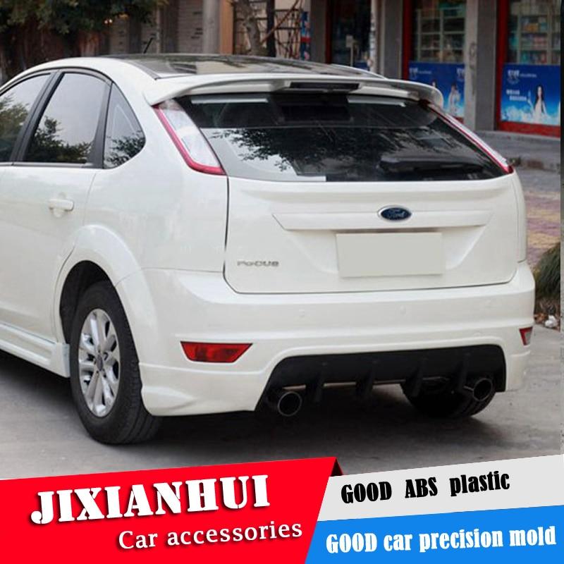 Pour le becquet de mise au point 2007 2011 Ford Focus hayon STK becquet ABS matière plastique voiture aile arrière couleur aileron arrière|Ailerons de voiture| |  -
