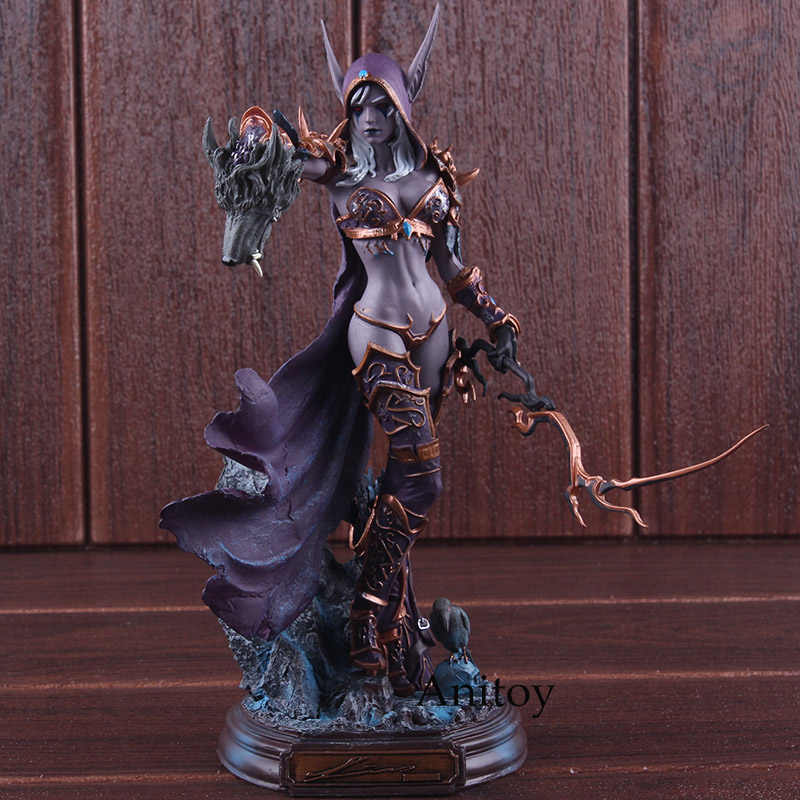 Cataclismo Figuras de Jogos 22 centímetros Sylvanas Windrunner Action Figure Collectible Modelo Toy PVC