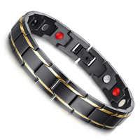 Bracelet de soins de santé magnétique perte de poids main chaîne minceur thérapie Acupoints Anti-Cellulite Bracelet magnétique lifting outils