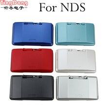 Tindong capa de caixa para nintendo ds, caixa com 7 cores em estoque, caixa completa e com botão para ndscase
