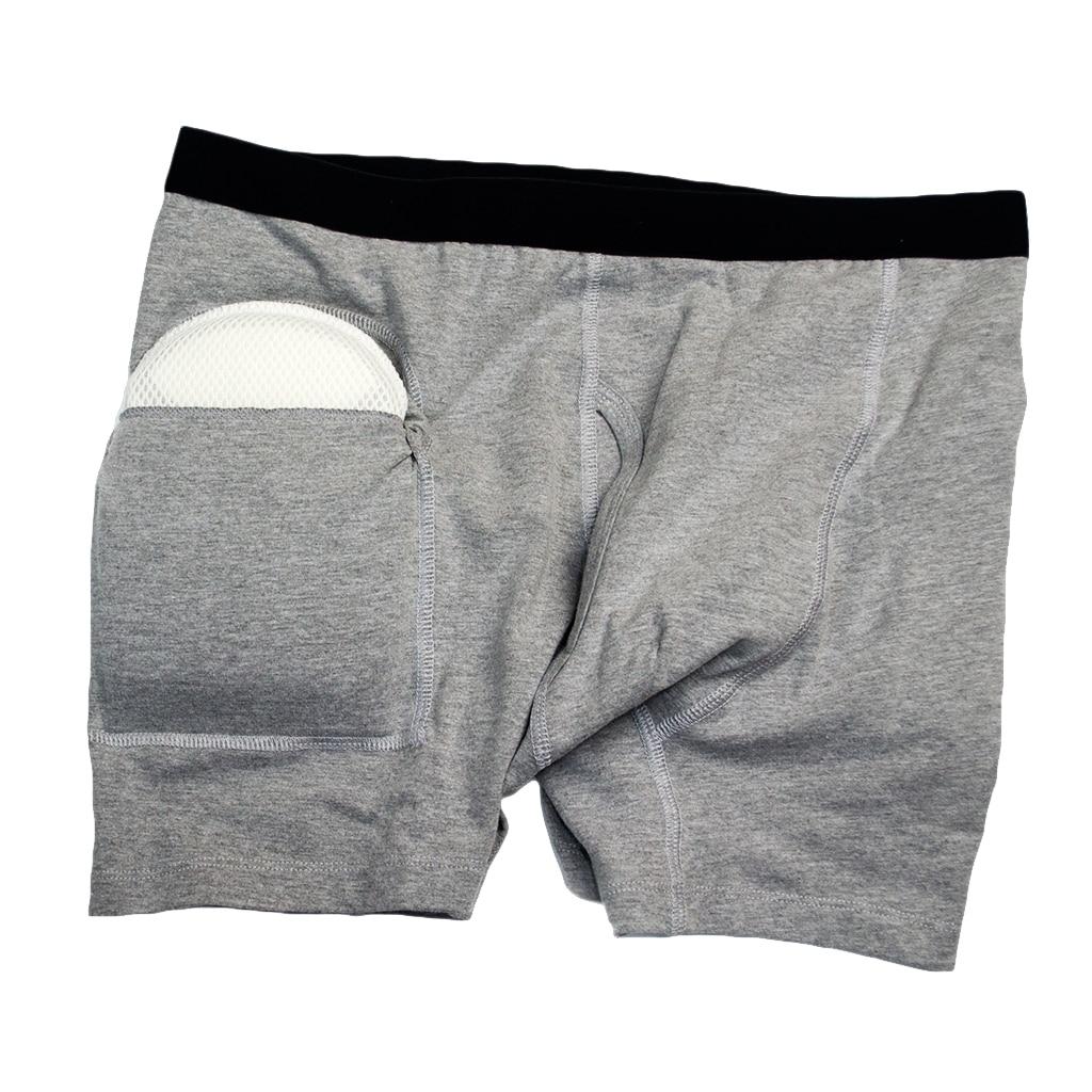 2pcs Men Hip Fractures Protector Pants Fall Injury Prevention Shorts Underwear Grey2pcs Men Hip Fractures Protector Pants Fall Injury Prevention Shorts Underwear Grey