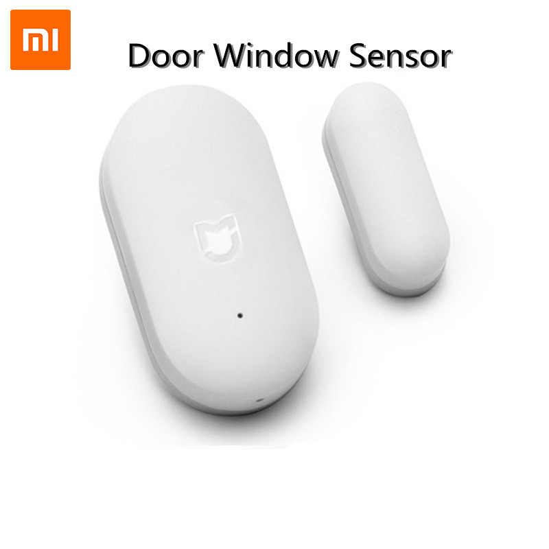 Original Xiaomi Door Window Sensor Pocket Size Xiaomi Smart Home Kits Alarm System Work With Gateway Mijia Mi Home App