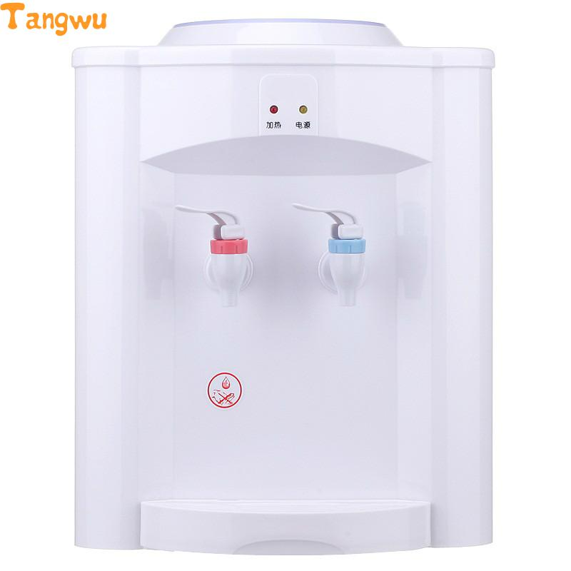 Free shipping Parts Desktop mini household heating small bile warm hot water dispenser household hot water purification drinking heating kettle hot water dispenser mini desktop speed hot water bottle filter