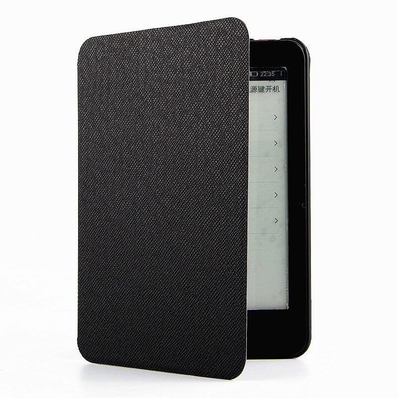 Case For iReader Plus PU Protective eBook Reader Smart Cover Protector leather For ZhangYue ireader plus Sleeve 6.8'' Electronic электронная книга viewsonic ebook reader 6 veb620 black