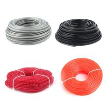 Professional Good Quality Nylon Cutting Trimmer Rope Strimmer Cord Lawn Accessory Round Square