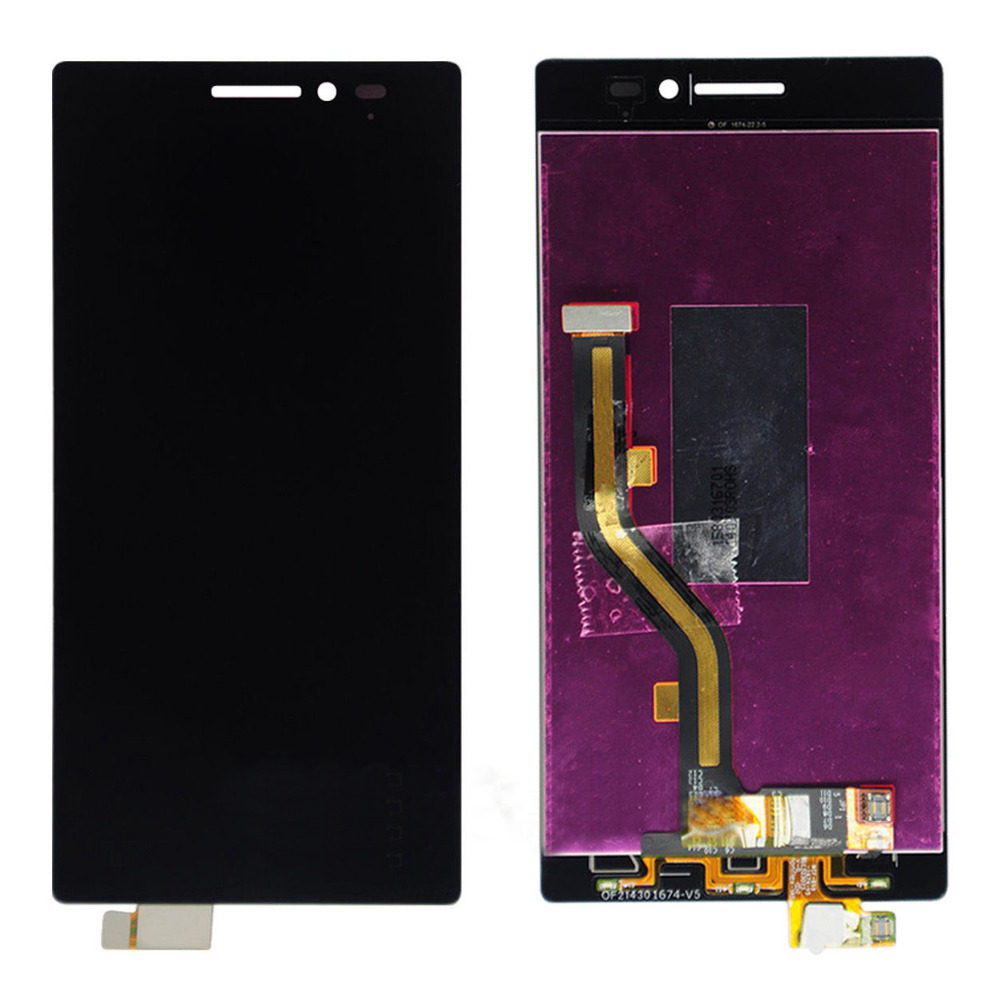 Black Touch Screen Digitizer + LCD Display Assembly Replacement FOR Lenovo Vibe X2 Free Shipping original quality test ok lcd display touch screen digitizer assembly for lenovo vibe x2 x2 to x2 cu black free shipping track