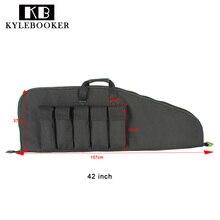 """Kylebooker 42 """"/ 107cm Taktikai Gun Bag Rifle Carry Hátizsákos védőzsák Kemping Kültéri Vadászzsák"""