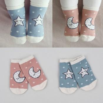 Baby Socks Cotton Asymmetry Toddler Spring Autumn Winter Cartoon Cute Anti-slip 1