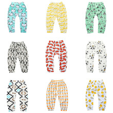 цена Kids Girls Leggings Spring Autumn Toddler Baby Boys Harem Pants Warm Stretchy Sport Trousers Children's Clothing онлайн в 2017 году