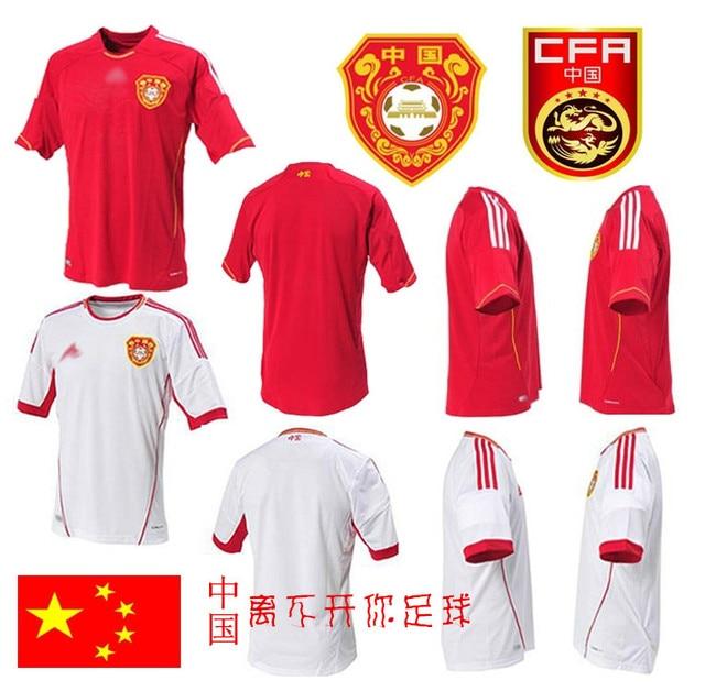 f6a689890 Free shipping++ 2014 china team soccer jersey set homecourt national team  jersey adult child jersey socks