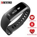 CURREN R5 פרו חכם להקת יד Oximeter חמצן בלחץ דם קצב לב שעון צמיד ספורט אינטליגנטי עבור iOS אנדרואיד