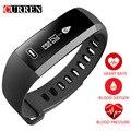 CURREN R5 PRO Smart запястье сердечного ритма крови Давление кислорода оксиметр спортивные часы браслет Интеллектуальная для iOS Android