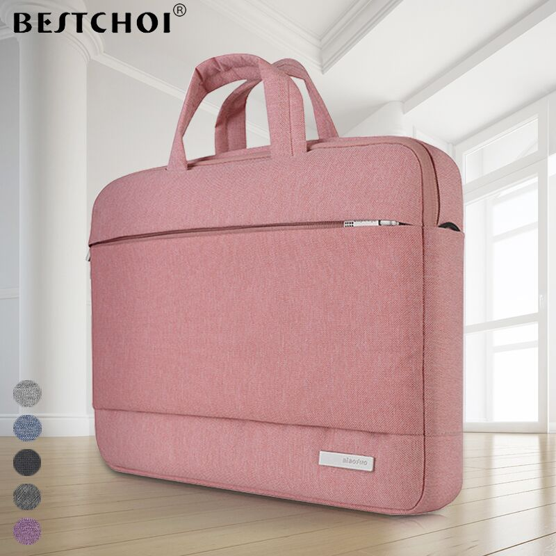 New Laptop <font><b>Bag</b></font> 15.6 inch for MacBook Pro Air 13 14 15 inch Solid Notebook Shoulder <font><b>Messenger</b></font> <font><b>Bags</b></font> Case for Acer Lenovo Dell Men