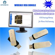 PHONEFIX Wu Xin Ji Wuxinji Fivestar USB Dongle for iPhone Samsung PCB Motherboard Schematic Diagram Repair Soldering assistant(China)