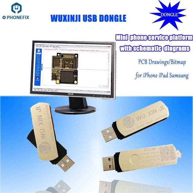PHONEFIX Wu Xin Ji Wuxinji Fivestar USB Dongle for iPhone Samsung