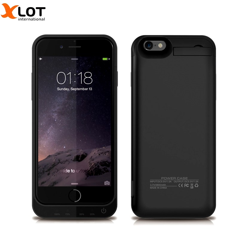 Portable 4200mAh For iphone 5 5S Power Bank Case External Phone Battery Pack Backup Charger Case