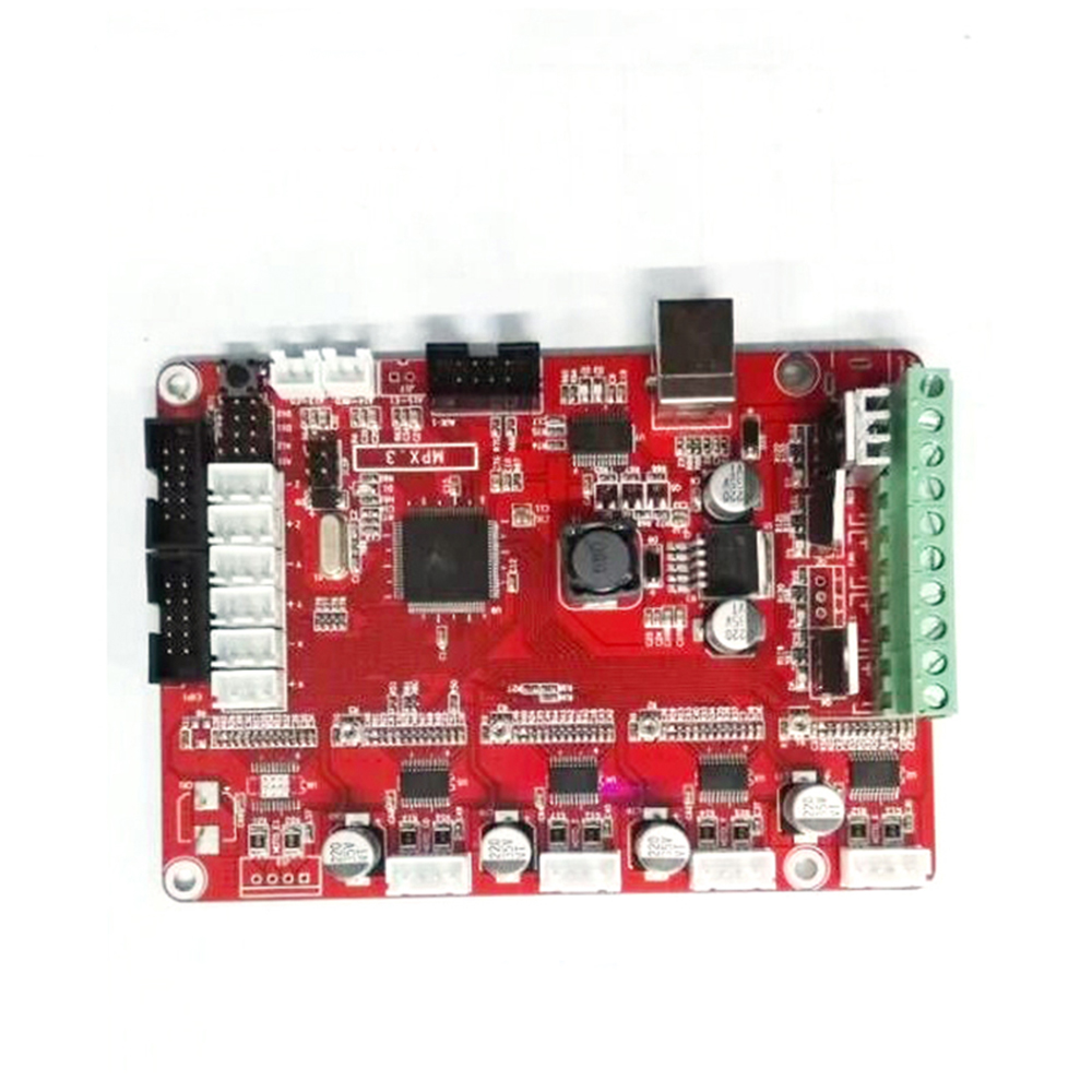 JGAurora A-3 3D Printer Mainboard Controller PCB Motherboard MPX_PRO_V3.0 Prusa RepRap Kit DIY 3D Printer Spare Parts