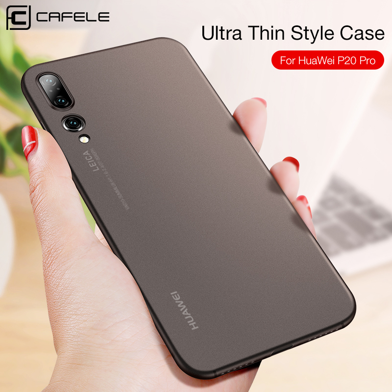 low priced 01c58 881f8 Ultra Thin Case For Huawei P20 Lite Pro Translucent PP Case For Huawei P20  Light Weight Anti Fingerprint Full Back Cover