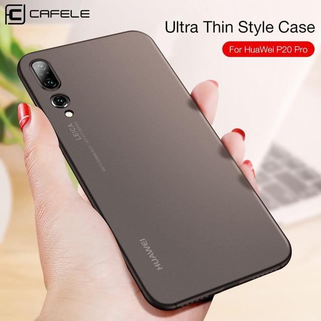 CAFELE Ultra Thin Case for Huawei P20 Lite Pro Translucent PP Case for Huawei P20 Light Weight Anti Fingerprint Full Back Cover