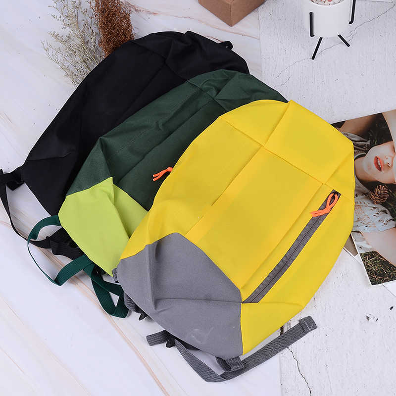 Sports Backpack Satchel Soft Handle Lightweight Oxford Cloth Backpacks For Travel Hiking Rucksack Cycling Backpack 23*10*40cm