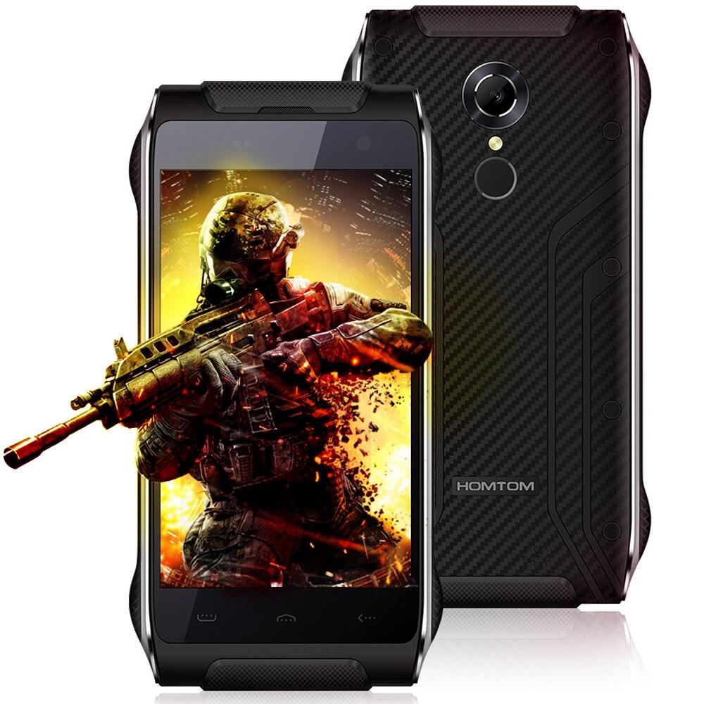 bilder für Homtom HT20 Android 6.0 4G Smartphone 4,7 Zoll MTK6737 Quad Core 1,3 GHz 2 GB + 16 GB Fingerabdruck Wasserdicht BT 4,0 IP68 Handy