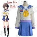 Hot Anime cosplay del partido cadáver traje Naomi Nakashima Ayumi Shinozaki sra. Yui Shishido Seiko