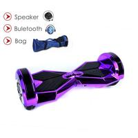 8 inch Electric Scooter Hoverboard Bluetooth Speaker Samsung battery LED electric skateboard Portable Self Balance Hover Board