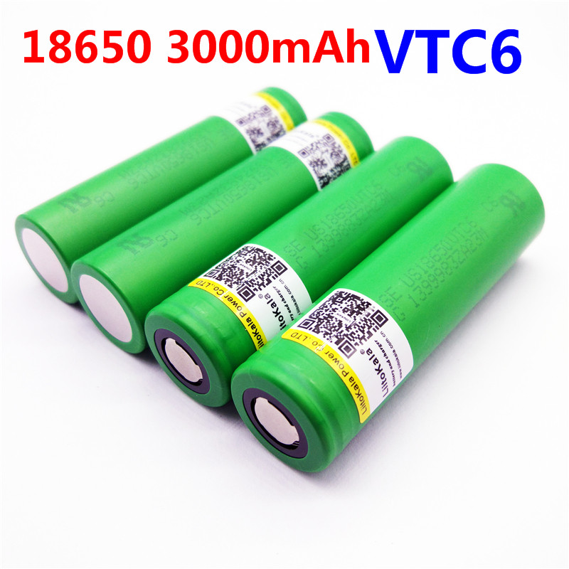 Liitokala VTC6 3.7V 3000mAh rechargeable Li-ion battery 18650 US18650VTC6 30A Toys flashlight tools шторы реалтекс классические шторы alexandria цвет венге молочный венге