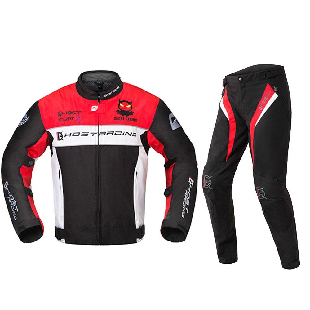 Motorcycle Men's Jacket Motorbike Protective Gear Jacket Men Racing Reflective Clothing Zipper Motor Jackets