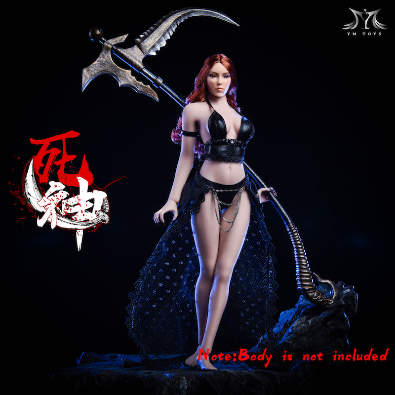 """YMTOYS YMT012 1//6 Scale God Of Death Girl Skirt for 12/"""" Action Figure"""