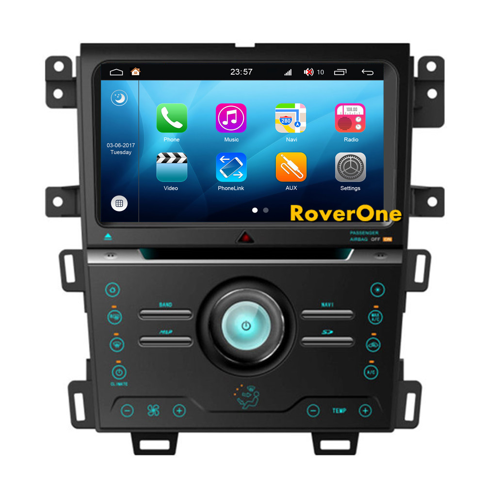 roverone android 8 0 car multimedia system for ford edge. Black Bedroom Furniture Sets. Home Design Ideas