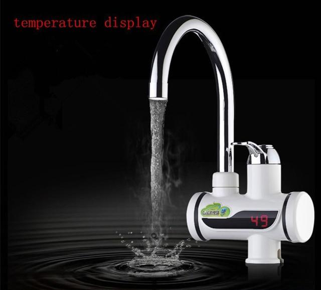 nouveau design 3sec instantané sans réservoir chauffe eau ... - Robinet Eau Bouillante Instantanee