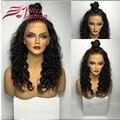 Grossa cheia Do Laço Perucas de Cabelo Humano Para As Mulheres Negras Parte Dianteira Do Laço Perucas de Cabelo humano 150 Densidade Glueless Full Lace Wig Com Bebê cabelo
