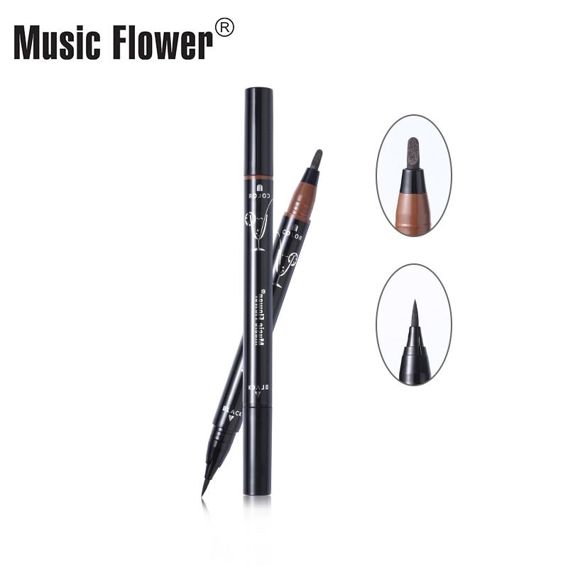 Music Flower Multiple Scope Сұйық Көз Қаламы Pen Super - Макияж - фото 4