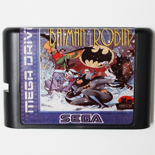 The Adventure Of Batman & Robin - Sega Mega Drive For Genesis