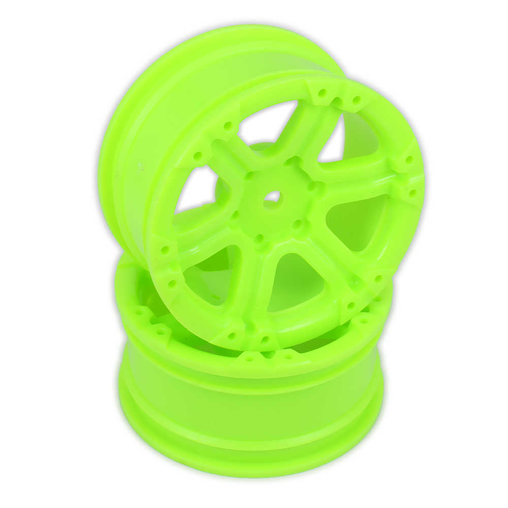 Velg w/o Band Voor Rc Auto 1/10 On Road Racing Auto Crawler Drift Auto 5 6 7 spoke HSP Himoto HPI Traxxas Redcat Tyre Plastic