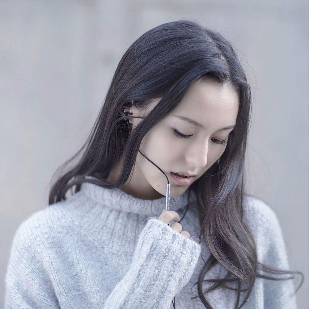 Originale xiaomi mi hybrid pro hd auricolari cerchio di ferro di controllo cablata con il mic per xiaomi mi3 mi5 redmi 3 & altri smartphone - 4