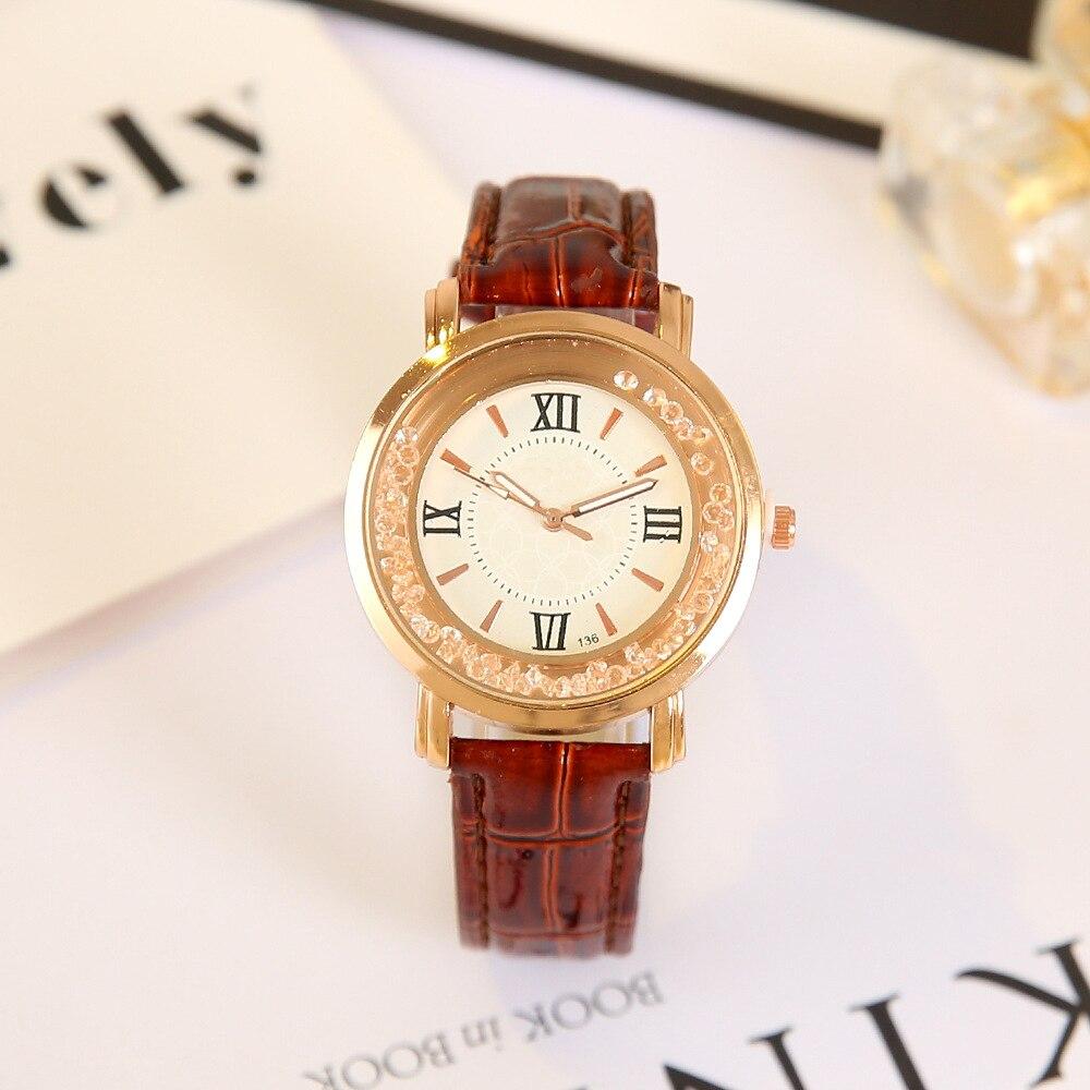 2018 Топ люксовый бренд Нержавеющаясталь Для женщин Повседневное часы