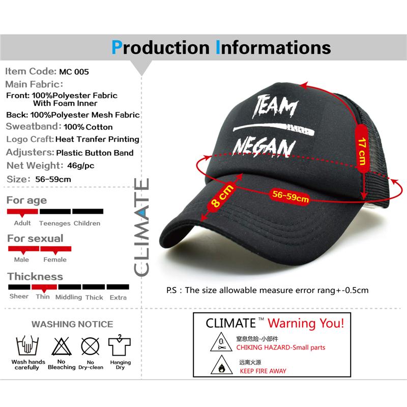 black trucker hat MC 005-01