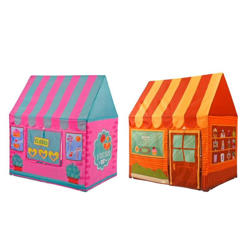 Kids Play Tent Girl Princess Castle Outdoor Kids House Play Pool Playhouse Indoor Outdoor Toy Tent Children Baby Beach Tent mushroom kids play hut pink blue children toy tent baby adventure game room indoor outdoor playhouse