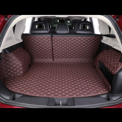 Custom car trunk mat For Mitsubishi All Models asx outlander lancer 10 pajero sport car accessories