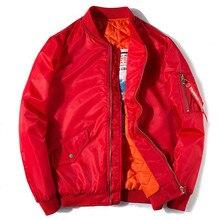 Новая мужская женская зимняя Толстая теплая куртка-бомбер армейская Военная однотонная бейсбольная куртка для пилота модная повседневная Молодежная ПАРА ПАЛЬТО