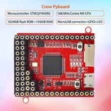 Elecrow 코어 보드 crow pyboard 마이크로 컨트롤러 개발 보드 pyboard python 학습 모듈 용 micropython stm32 센서