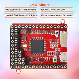 Image 2 - Elecrow python 코어 보드 crow pyboard 마이크로 컨트롤러 개발 보드 micropython stm32f405rg pyboard 학습 모듈 용