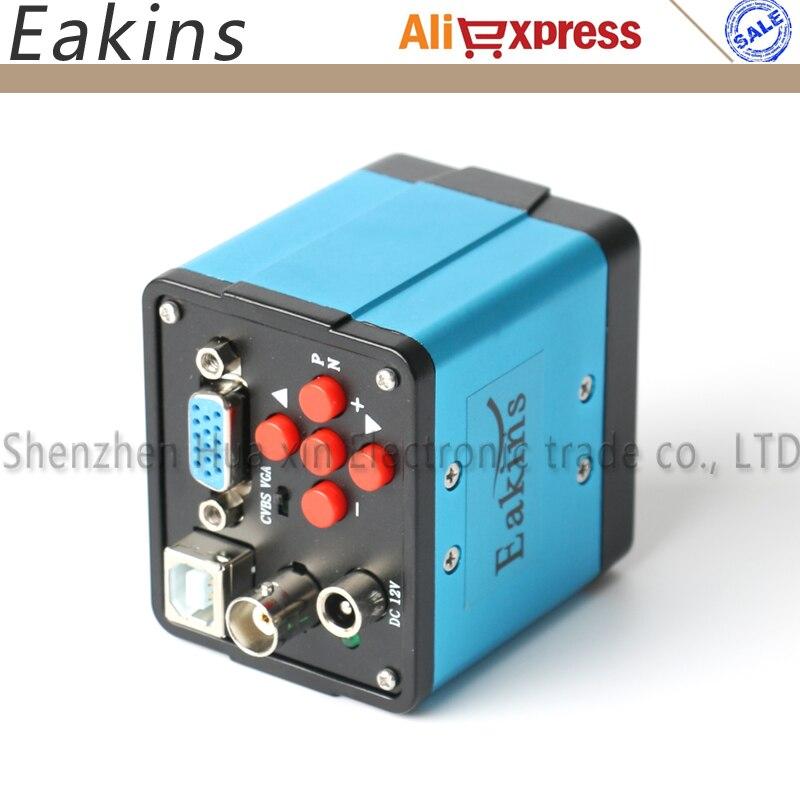 2MP 1/2. 5 pouce 45 cadre 1920*1080 3 en Numérique Industrielle Microscope Caméra ou PCB lab VGA USB CVBS Sorties