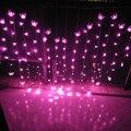 2.5 M Novidade Luzes LED Borboleta Cordas Cortina Casamento Hotel Dia Dos Namorados Férias Iluminações Luzes Luces Para Casa e Jardim