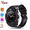 V8 Smart Watch поддержка Sim-карта TF Bluetooth Часы с 0.3 М камера MTK6261D Smart Watch для IOS Android Phone Watch PK kw88