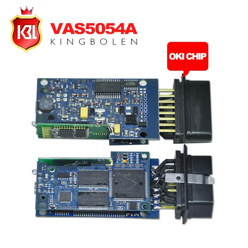 2016 wholesale vas 5054a full chip oki chip odis 3 03 version vas5054a oki vw vas5054 diagnostic